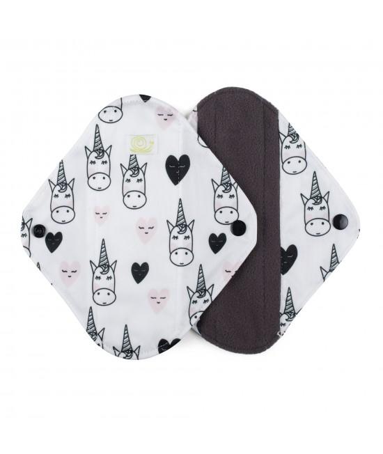 Set de 2 absorbante intime feminine lavabile Baba+Boo Medium Unicorn