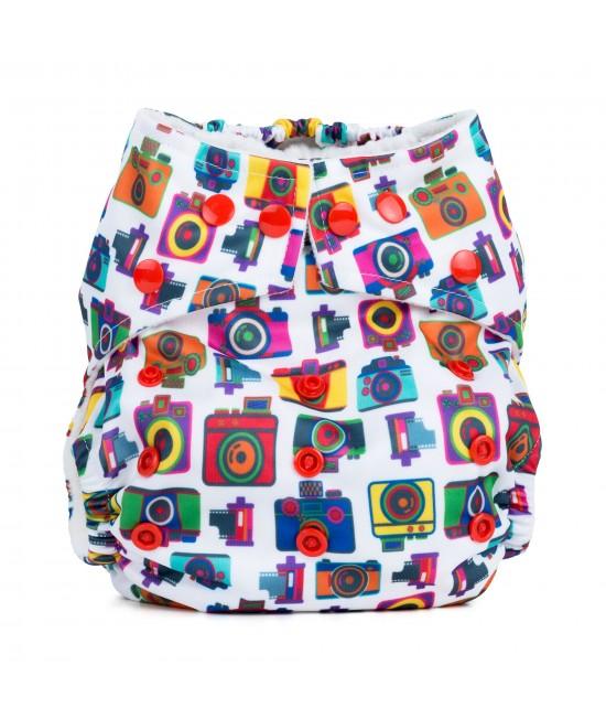 Scutec textil cu buzunar Baba+Boo Cameras