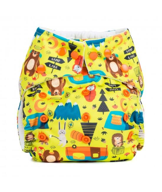 Scutec textil cu buzunar Baba+Boo Camping - varianta nouă