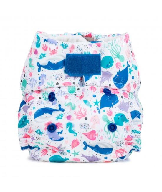 Scutec textil pentru nou-născuți - Baba+Boo Oceans