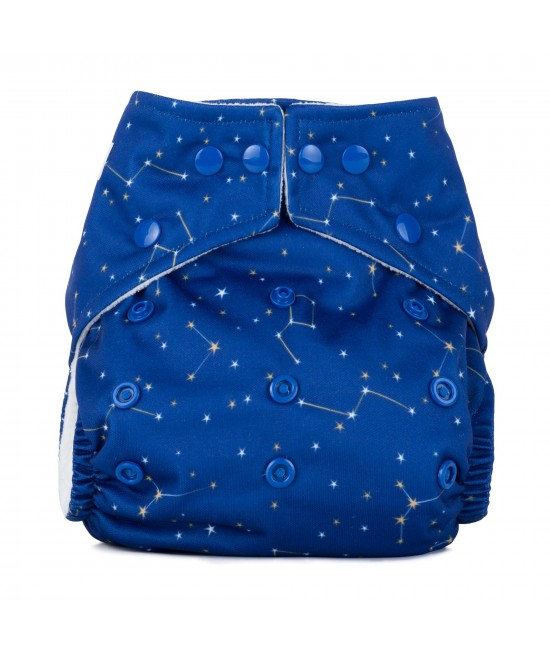 Scutec textil cu buzunar Baba+Boo Constellations - varianta nouă