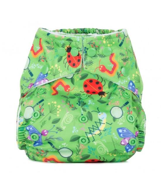 Scutec textil cu buzunar Baba+Boo Nature Detectives - varianta nouă