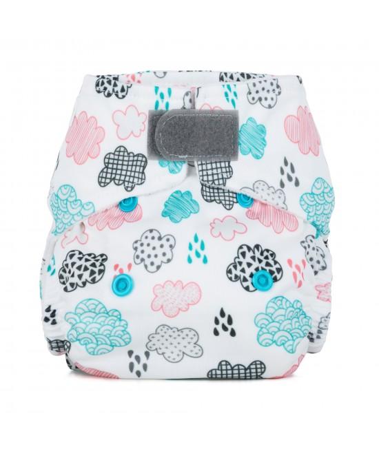 Scutec textil pentru nou-născuți - Baba+Boo Rainy Days