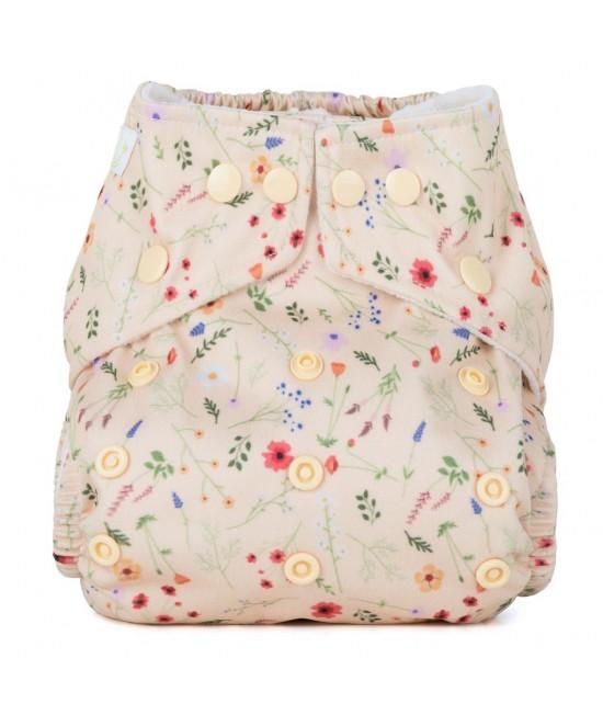Scutec textil cu buzunar Baba+Boo Wildflowers - varianta nouă