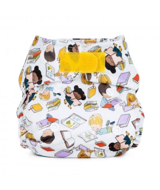 Scutec textil pentru nou-născuți - Baba+Boo Bookworm