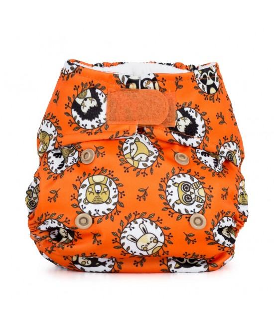 Scutec textil pentru nou-născuți - Baba+Boo Enchanted Wood