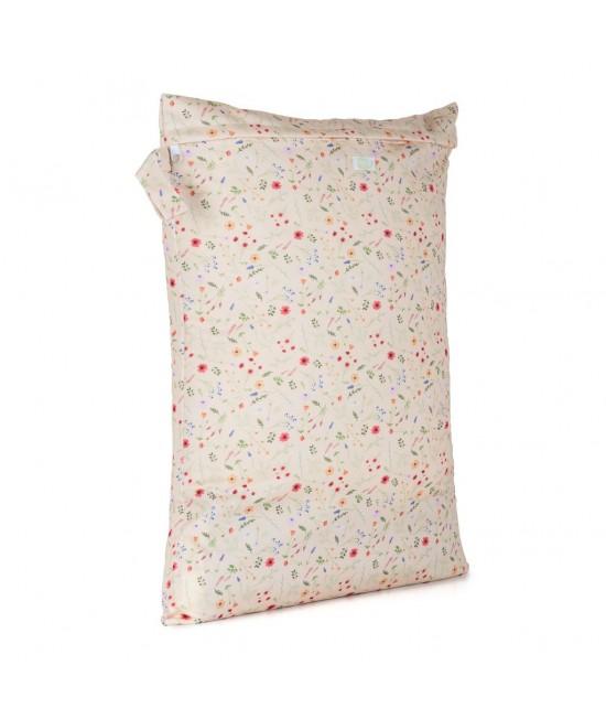 Săculeț Baba+Boo mare impermeabil refolosibil - wet bag Wildflowers