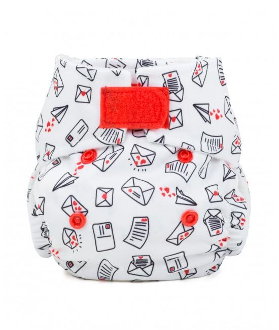 Scutec textil pentru nou-născuți - Baba+Boo Love Letters