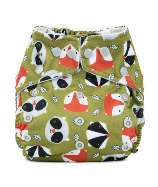 Scutec textil cu buzunar Baba+Boo Fox and Friends - varianta nouă