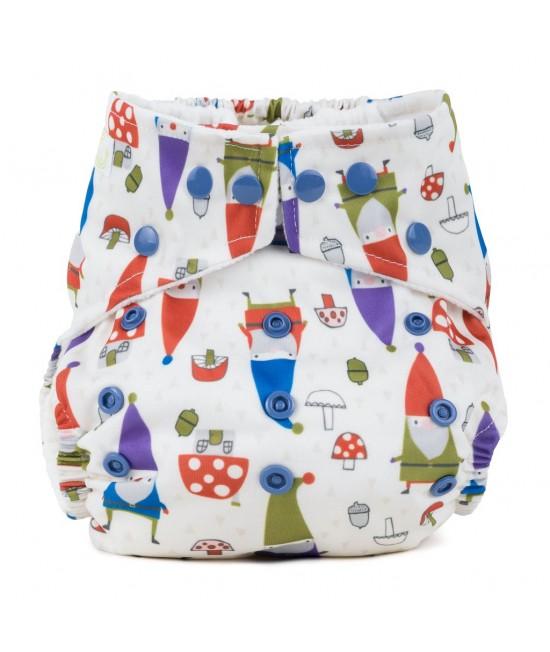 Scutec textil cu buzunar Baba+Boo Gnomes - varianta nouă