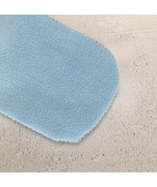 Linere Stay-Dry refolosibile albastre din polar (fleece) Baba+Boo - mărime unică - set de 5 bucăți