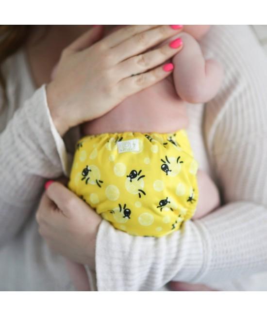 Scutec textil pentru nou-născuți - Baba+Boo BaaBa Sheep