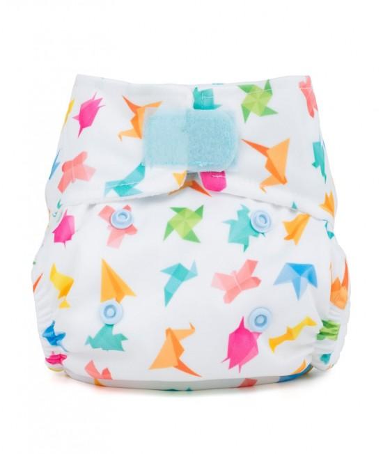 Scutec textil pentru nou-născuți - Baba+Boo Origami