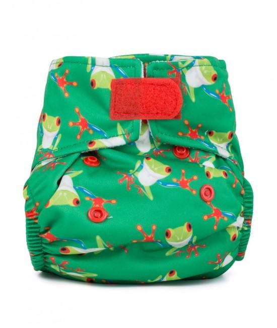 Scutec textil pentru nou-născuți - Baba+Boo Tree Frogs
