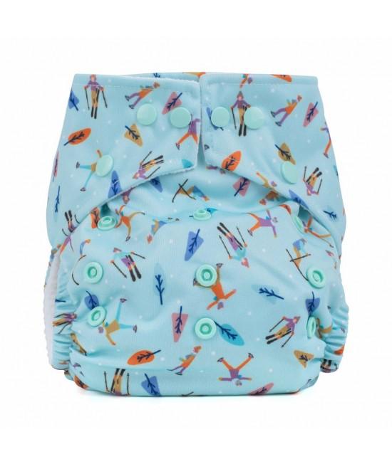Scutec textil cu buzunar Baba+Boo Alpine Fun - varianta nouă