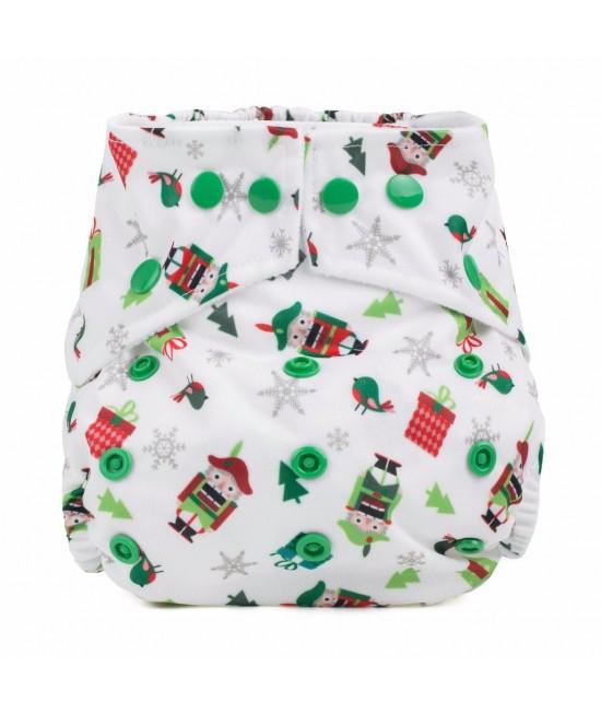 Scutec textil cu buzunar Baba+Boo Nutcracker - varianta nouă