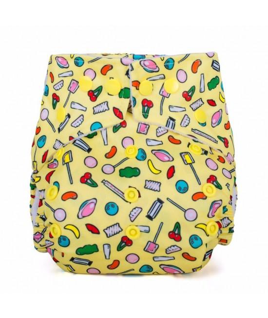 Scutec textil cu buzunar Baba+Boo Sweet Shop - varianta nouă