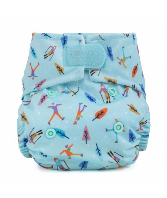 Scutec textil pentru nou-născuți - Baba+Boo Alpine Fun