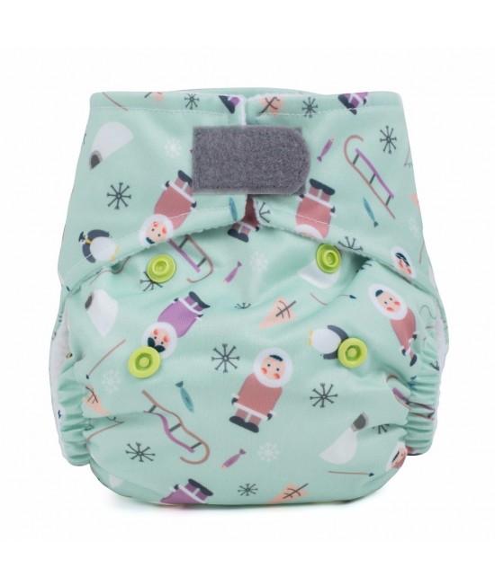 Scutec textil pentru nou-născuți - Baba+Boo Arctic Friends