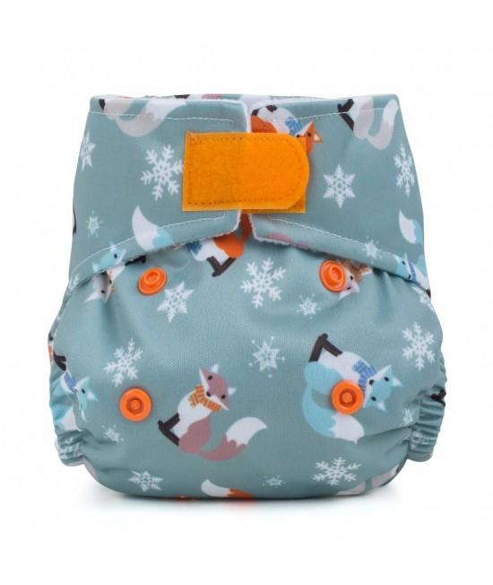 Scutec textil pentru nou-născuți - Baba+Boo Frosty Fox