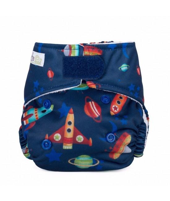 Scutec textil pentru nou-născuți - Baba+Boo Shoot For The Moon