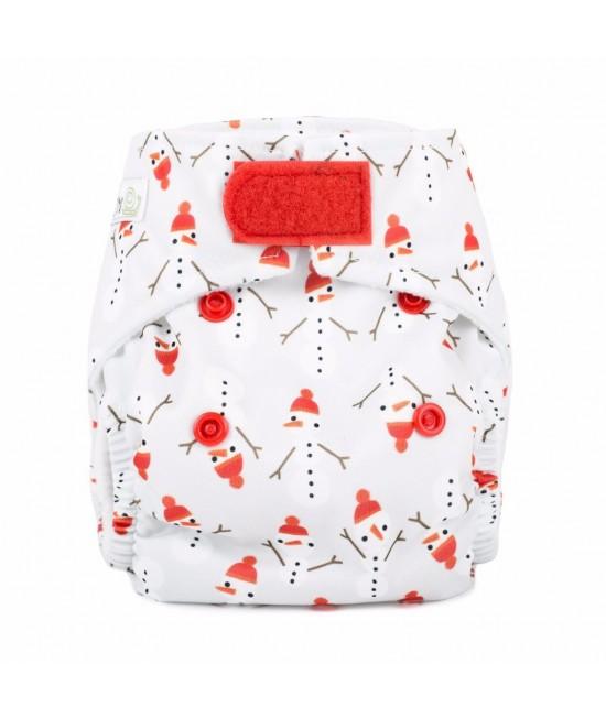 Scutec textil pentru nou-născuți - Baba+Boo Snowman