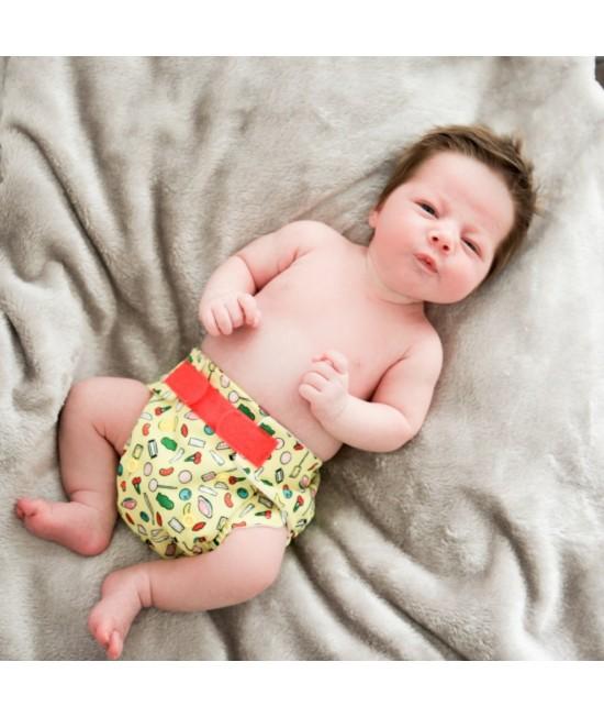 Scutec textil pentru nou-născuți - Baba+Boo Sweet Shop