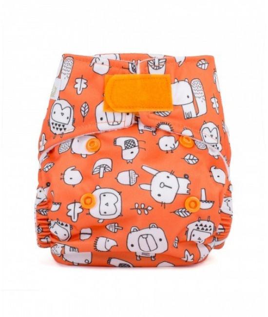 Scutec textil pentru nou-născuți - Baba+Boo Woodland Friends