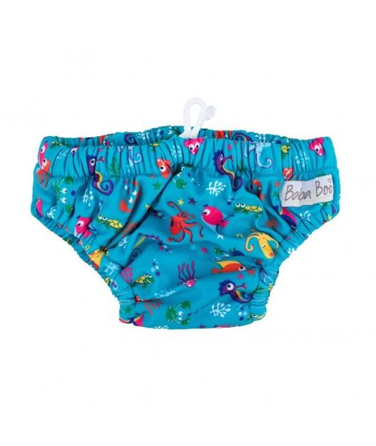 Slip pentru bebeluși - scutec refolosibil pentru înot Baba+Boo Under The Sea