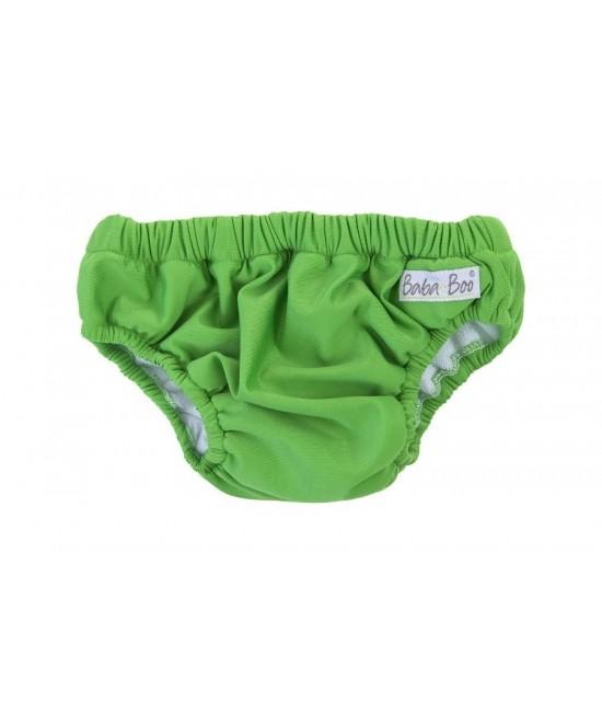 Slip pentru bebeluși - scutec refolosibil pentru înot Baba+Boo Green (verde)