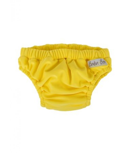 Slip pentru bebeluși - scutec refolosibil pentru înot Baba+Boo Yellow (galben)