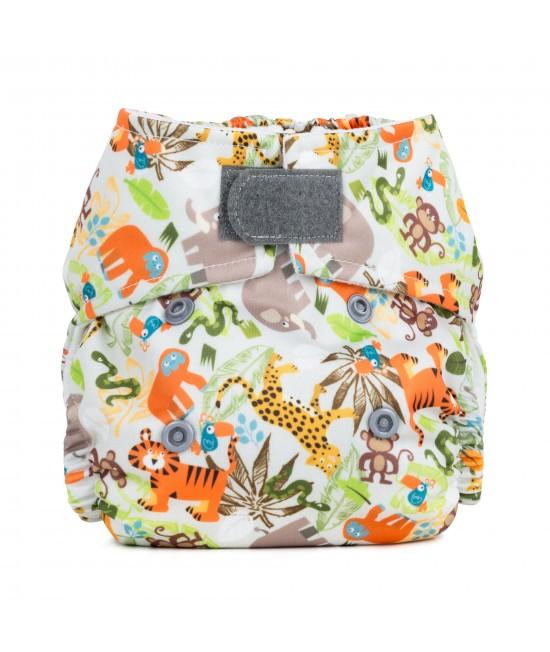 Scutec textil pentru nou-născuți - Baba+Boo Jungle