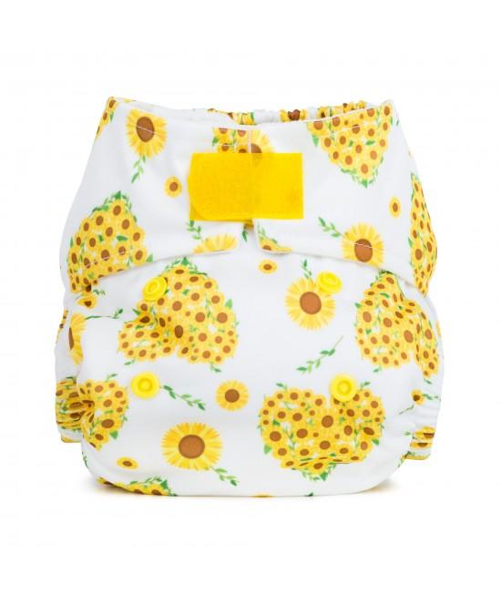 Scutec textil pentru nou-născuți - Baba+Boo Sunflowers