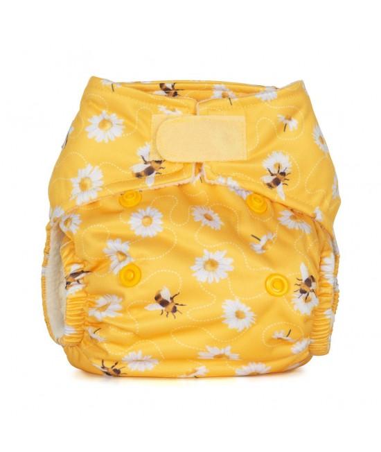 Scutec textil pentru nou-născuți - Baba+Boo Daisies