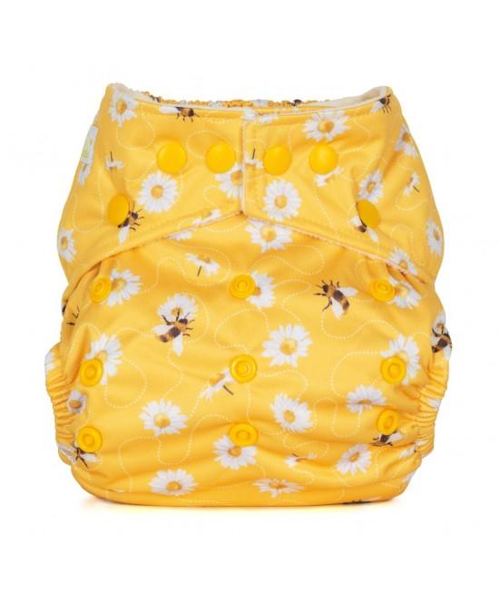Scutec textil cu buzunar Baba+Boo Daisies
