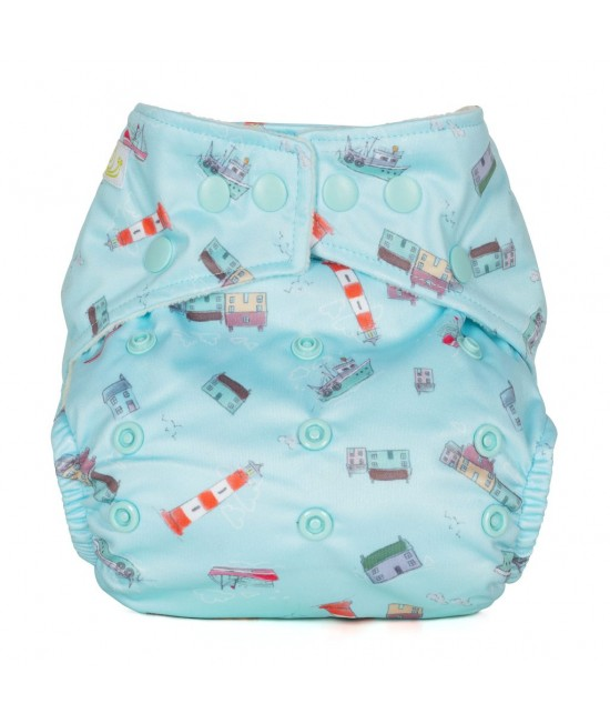 Scutec textil cu buzunar Baba+Boo Harbour