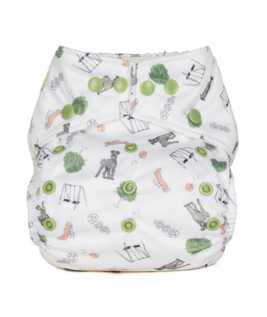 Scutec textil cu buzunar Baba+Boo Outdoor Play