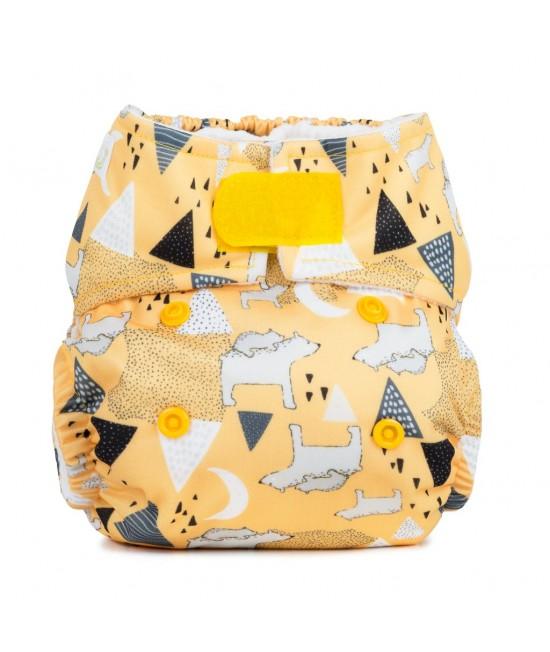 Scutec textil pentru nou-născuți - Baba+Boo Polar Bears