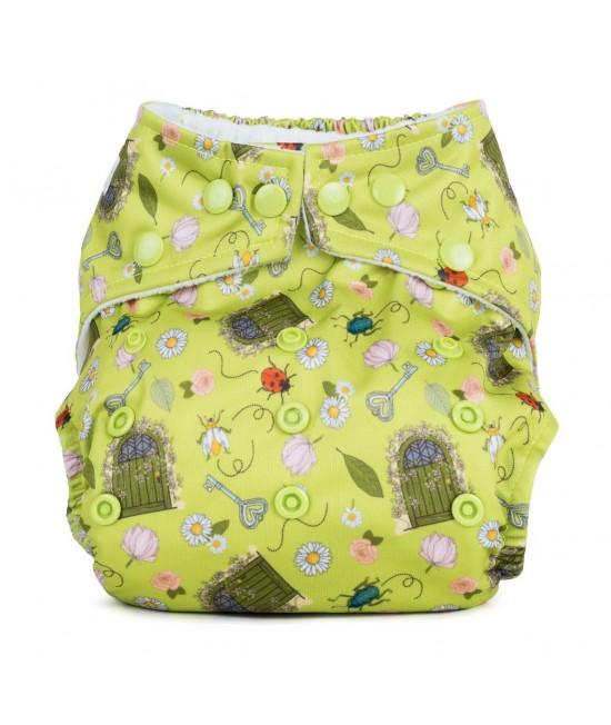Scutec textil cu buzunar Baba+Boo Secret Garden