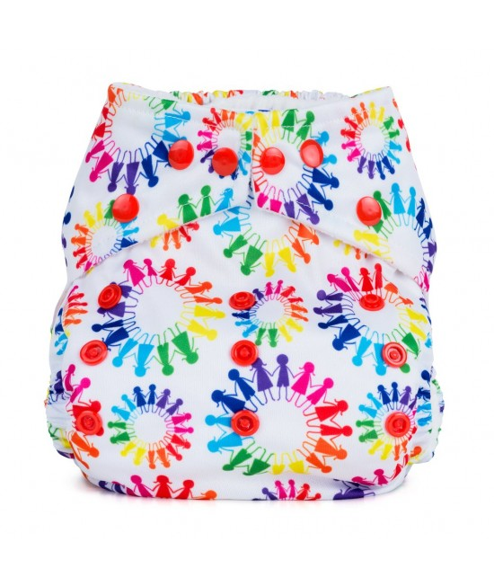 Scutec textil cu buzunar Baba+Boo Community