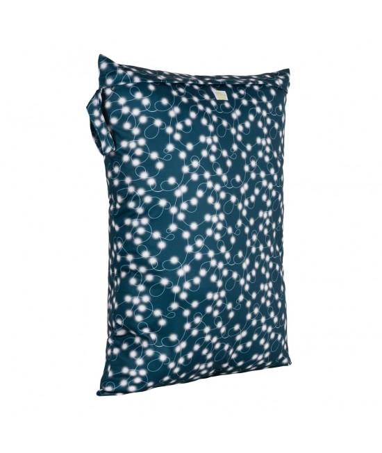 Săculeț Baba+Boo mare impermeabil refolosibil - wet bag Fairy Lights