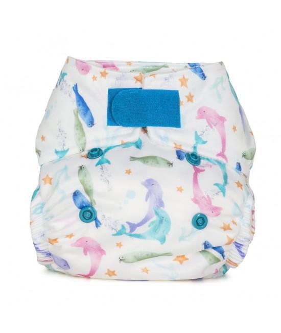 Scutec textil pentru nou-născuți - Baba+Boo Sea Life