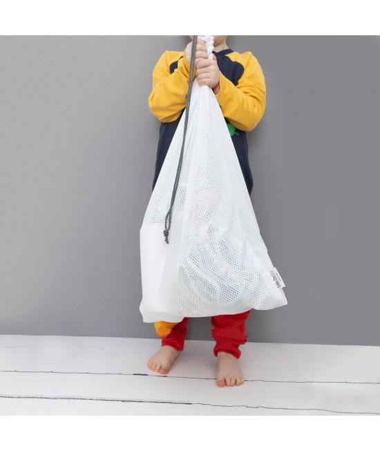 Sac (plasă, mesh bag) Baba+Boo pentru depozitarea și spălarea scutecelor