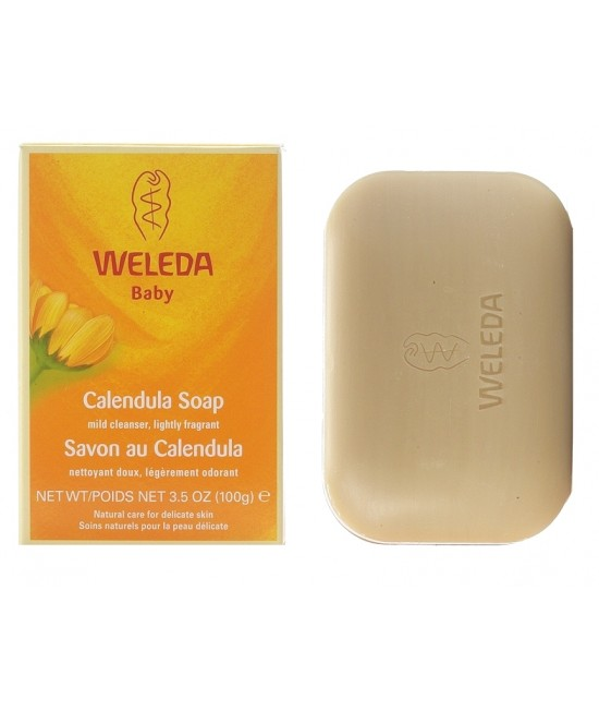 Săpun vegetal cu extract de gălbenele Weleda Baby