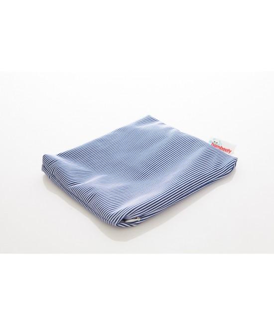 Borsetă impermeabilă (wet-bag mic) Bambooty - Navy Stripes