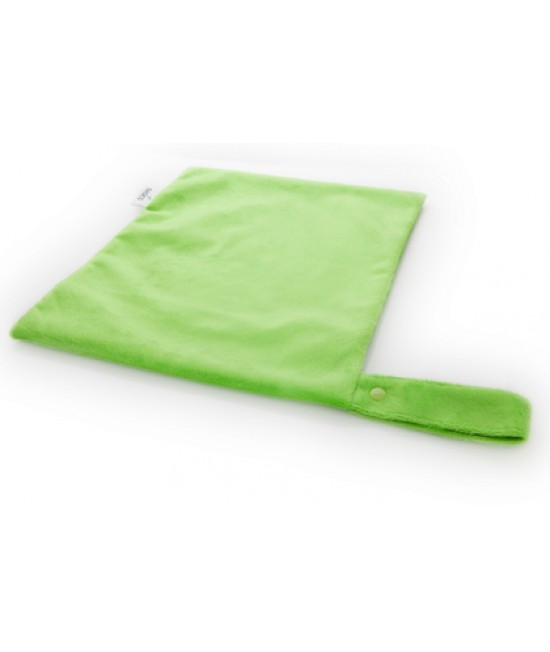 Sac pentru scutece (wet-bag) Bambooty BASICS Apple Green