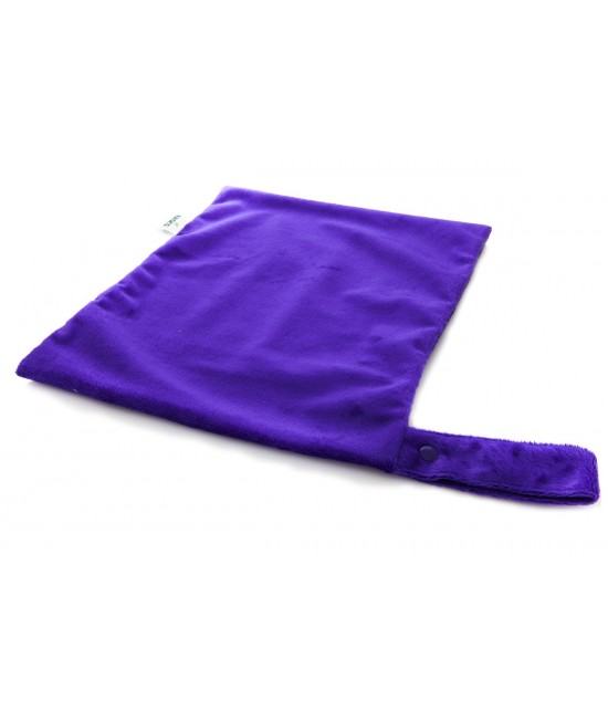 Sac pentru scutece (wet-bag) Bambooty BASICS Plum Purple