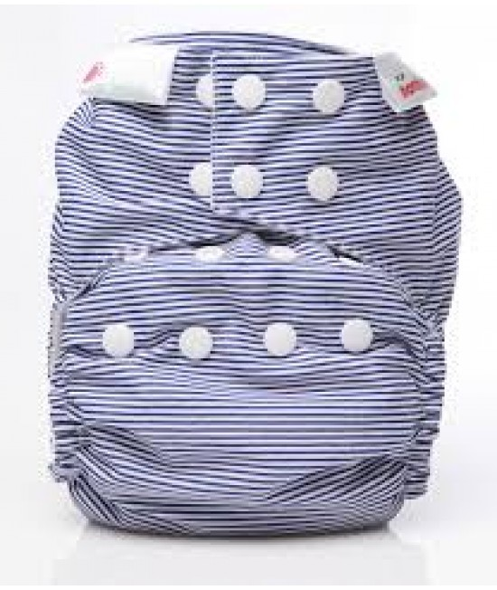 Scutec textil Bambooty Easy One Size AIO (All in one) - EOS Navy Stripes