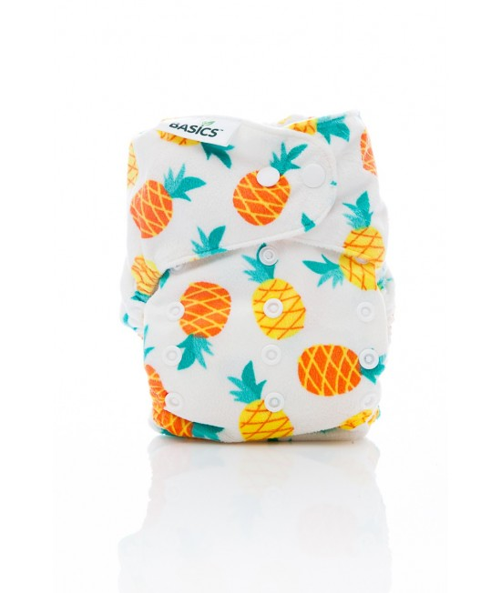 Scutec textil Bambooty BASICS AI2 (All in two) - Pineapple Mania (ediție limitată)