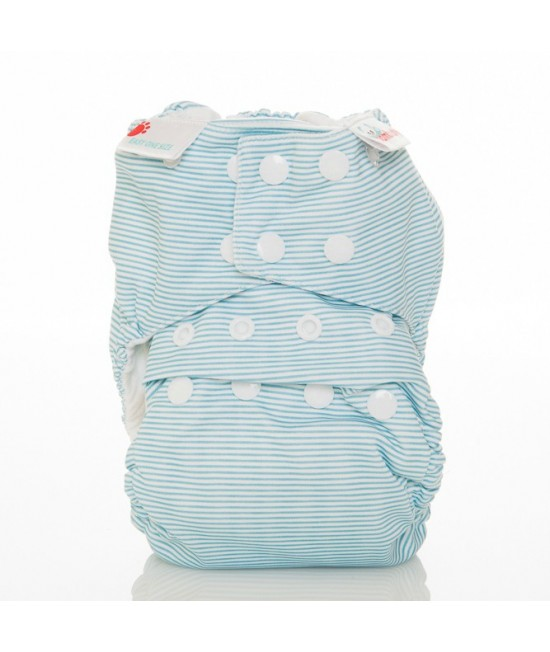 Scutec textil Bambooty Easy One Size AIO (All in one) - EOS Baby Blue Stripes